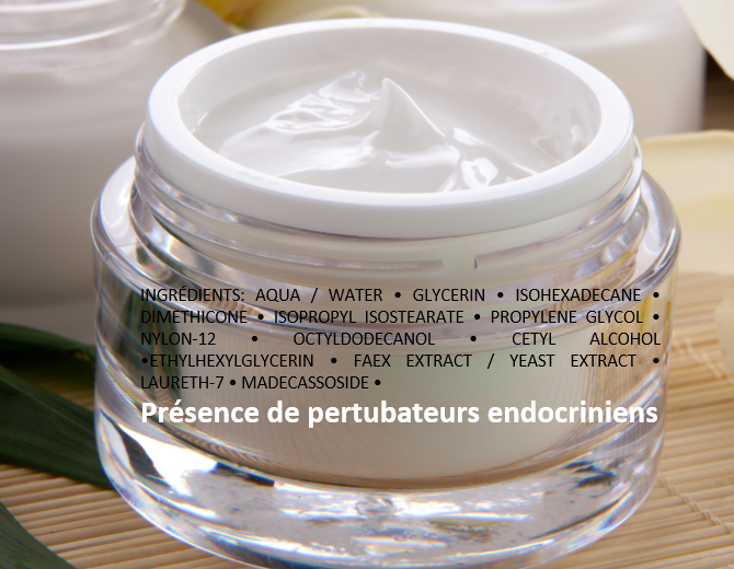 endocrine disruptors in moisturizer