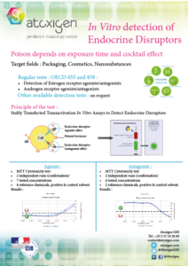 brochure about in vitro detection of endocrine disruptors