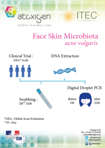 Brochures face Skin Microbiome